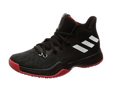Adidas Mad Bounce J, Zapatillas de Baloncesto Unisex niño, Negro ...