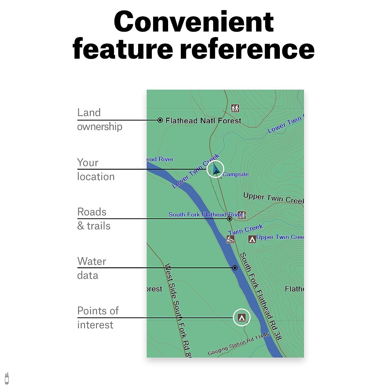 Amazon Oregon Hunting Maps onX Hunt Chip for Garmin GPS