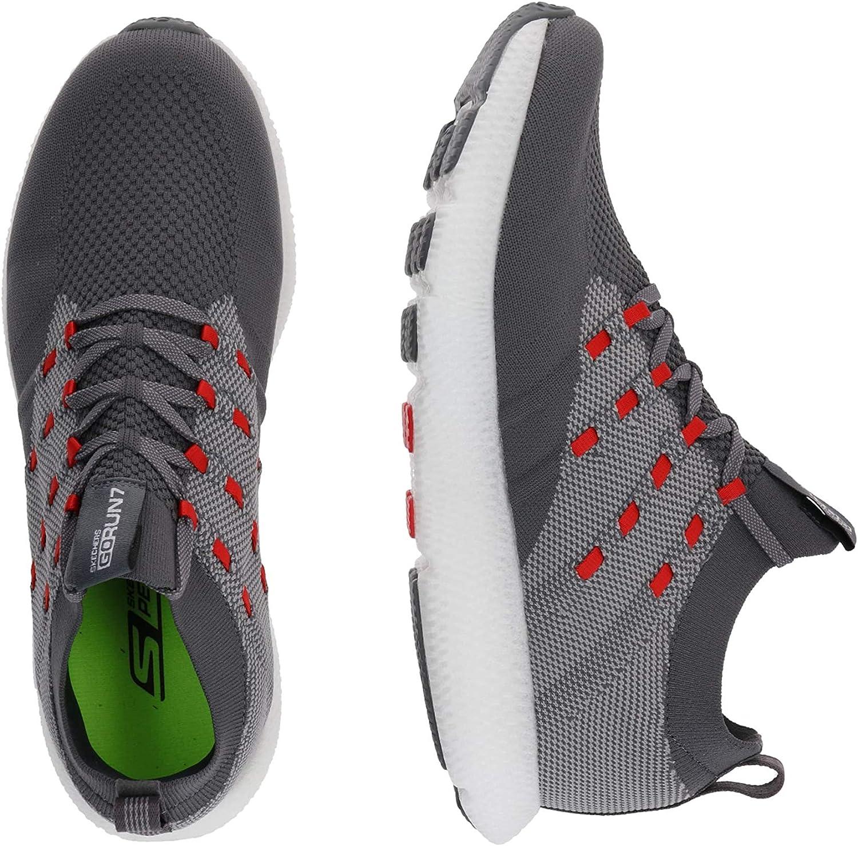 Skechers mens 55219 Gorun 7 Charcoal Red