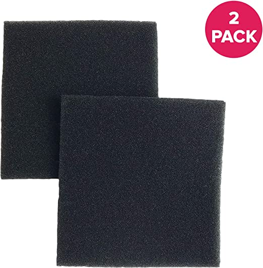 CF1 86883 20-86883 2-Pack Foam Filter for Kenmore 116 Series Canister Vacuums