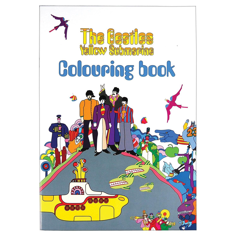 Apple Corps The Beatles Yellow Submarine - Libro de colorear: Amazon ...