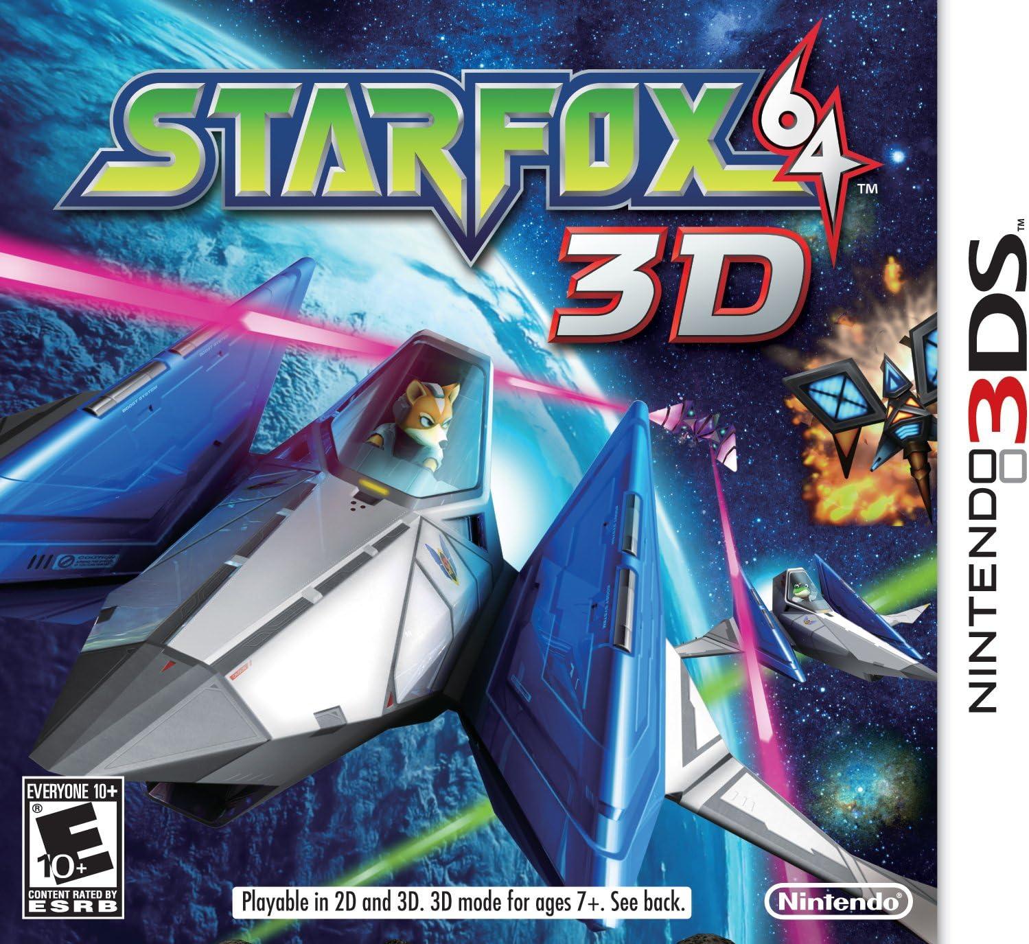 Amazon com: Star Fox 64 3D: Video Games