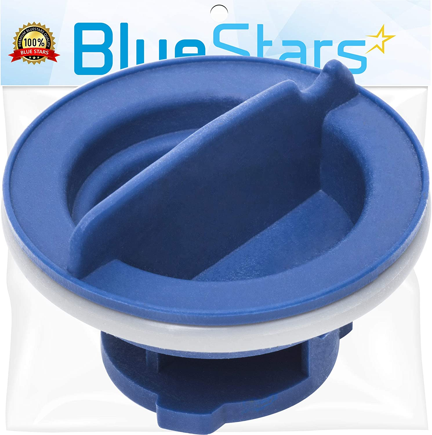 Ultra Durable WPW10077881 Dishwasher Rinse Aid Cap Replacement Part by Blue Stars - Exact Fit for Whirlpool & KitchenAid Dishwashers - Replaces W10077881 PS11748135