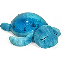 Cloud b Tranquil Turtle Aqua White Noise Sound Machine and Nightlight Projector