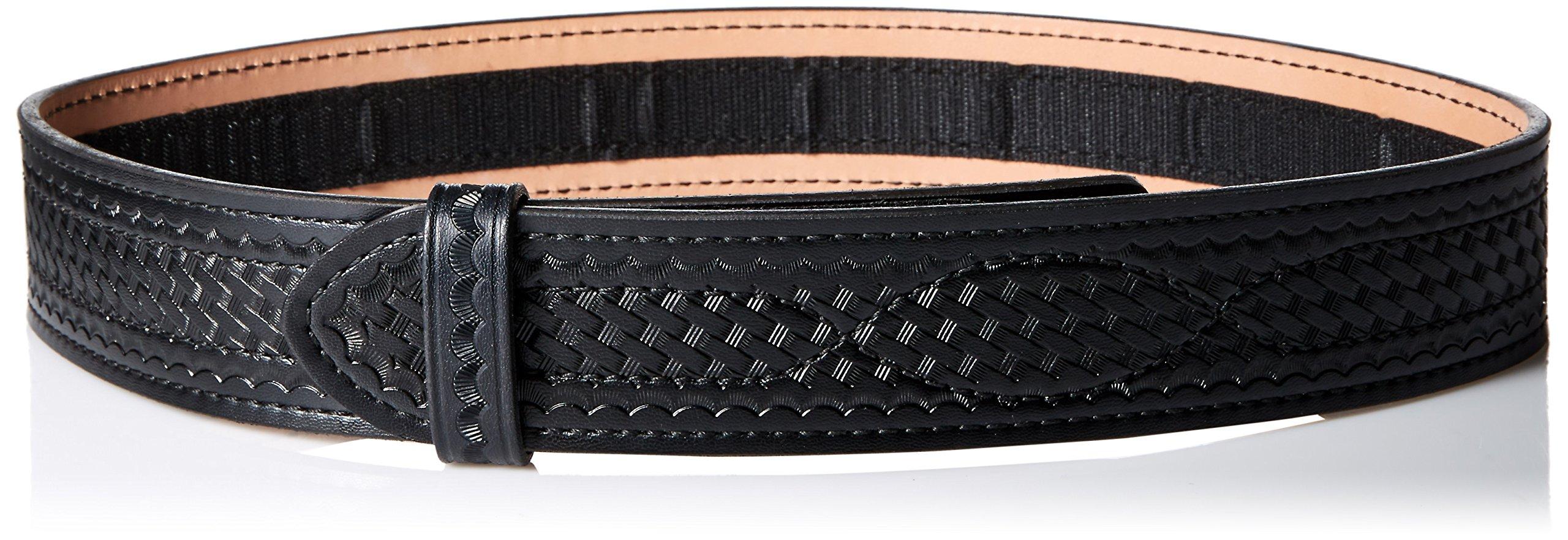 Safariland 94 Duty Belt from Buckleless Duty Belt (Basketweave, Black, Size 36)