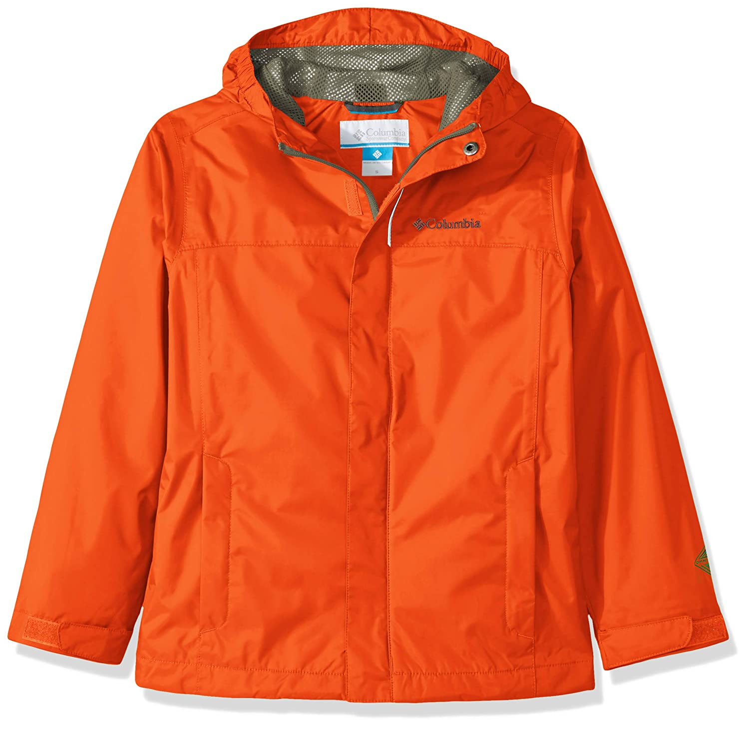 Orange (Tangy Orange) XL Columbia Watertight - Veste de Pluie - Garçon
