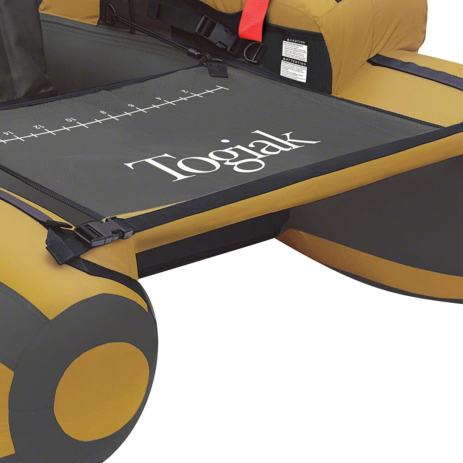 Gold//Gray Classic Accessories 32-007-014001-00 Togiak Float Tube