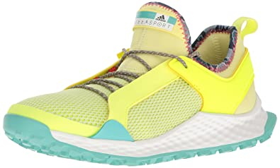 76a8ac0bb adidas Women s Aleki X Cross-Trainer Shoes Yellow Aqua