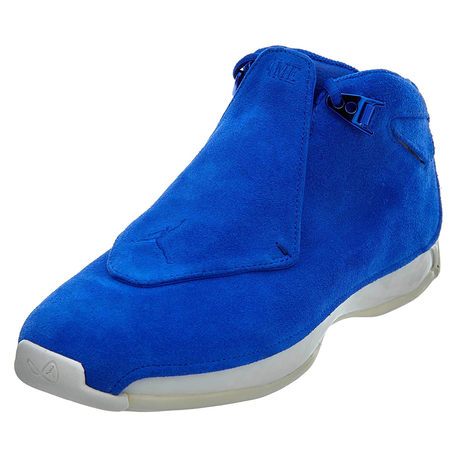 - Nike AIR Jordan 18 Retro 'bluee Suede' - AA2494-401