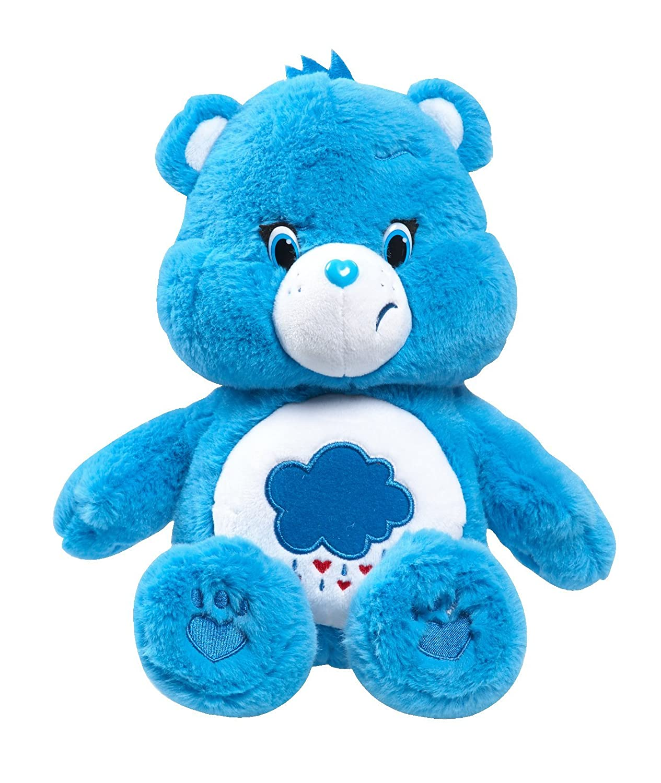 Amazon Just Play Care Bears Grumpy Medium Plush With DVD Toys Games