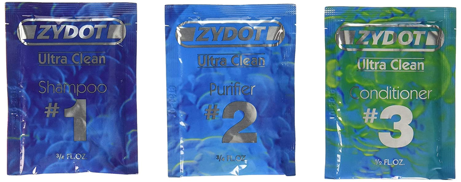 Zydot Ultra Clean Detox Shampoo & Conditioner Kit by Zydot by Zydot