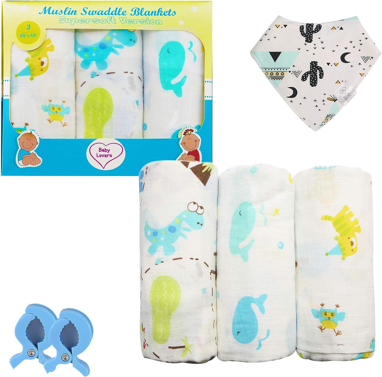 Mantitas Para Bebés Baby Lovers - Algodón 120x120 - Mantas Bebé ...