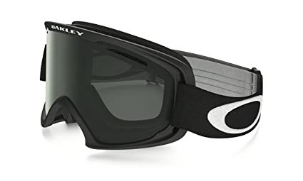 4dd3d9874e Image Unavailable. Image not available for. Color  Oakley O Frame XM 2.0  Snow Goggles Matte Black with Dark Grey   Persimmon Lens