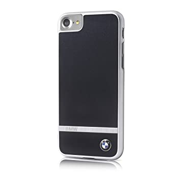 BMW Signature - Carcasa de Aluminio para Apple iPhone 7/6/6S, Color Negro