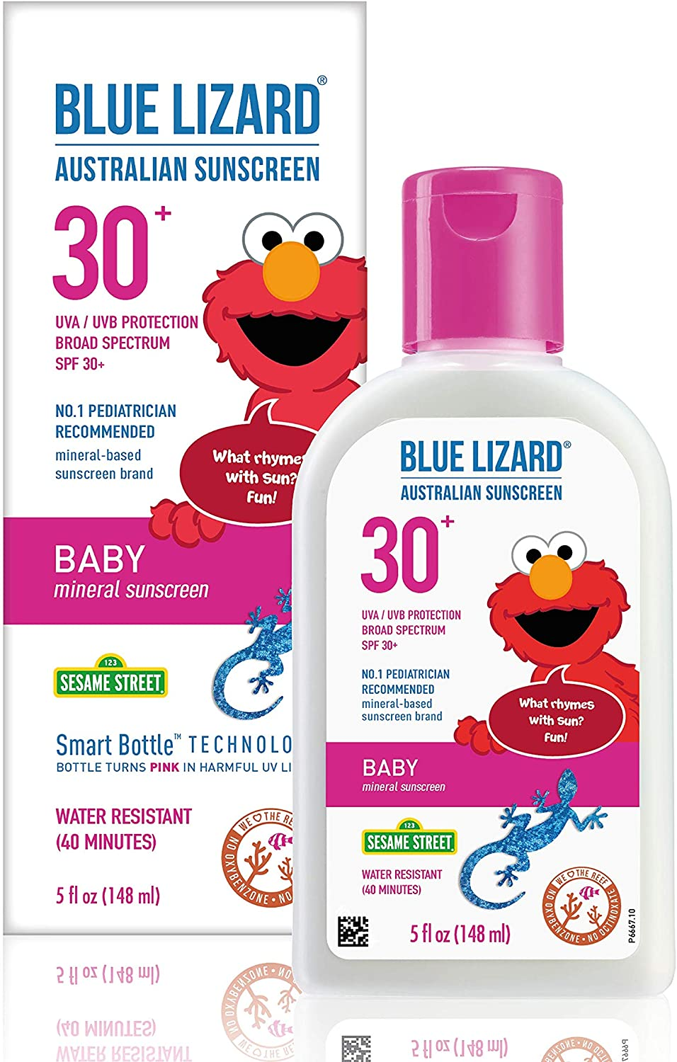 Amazon.com: BLUE LIZARD Blue Lizard Baby Mineral Sunscreen, No Chemical  Actives SPF 30+ UVA/UVB Protection, Unscented, 5 Fl Oz: Health & Personal  Care