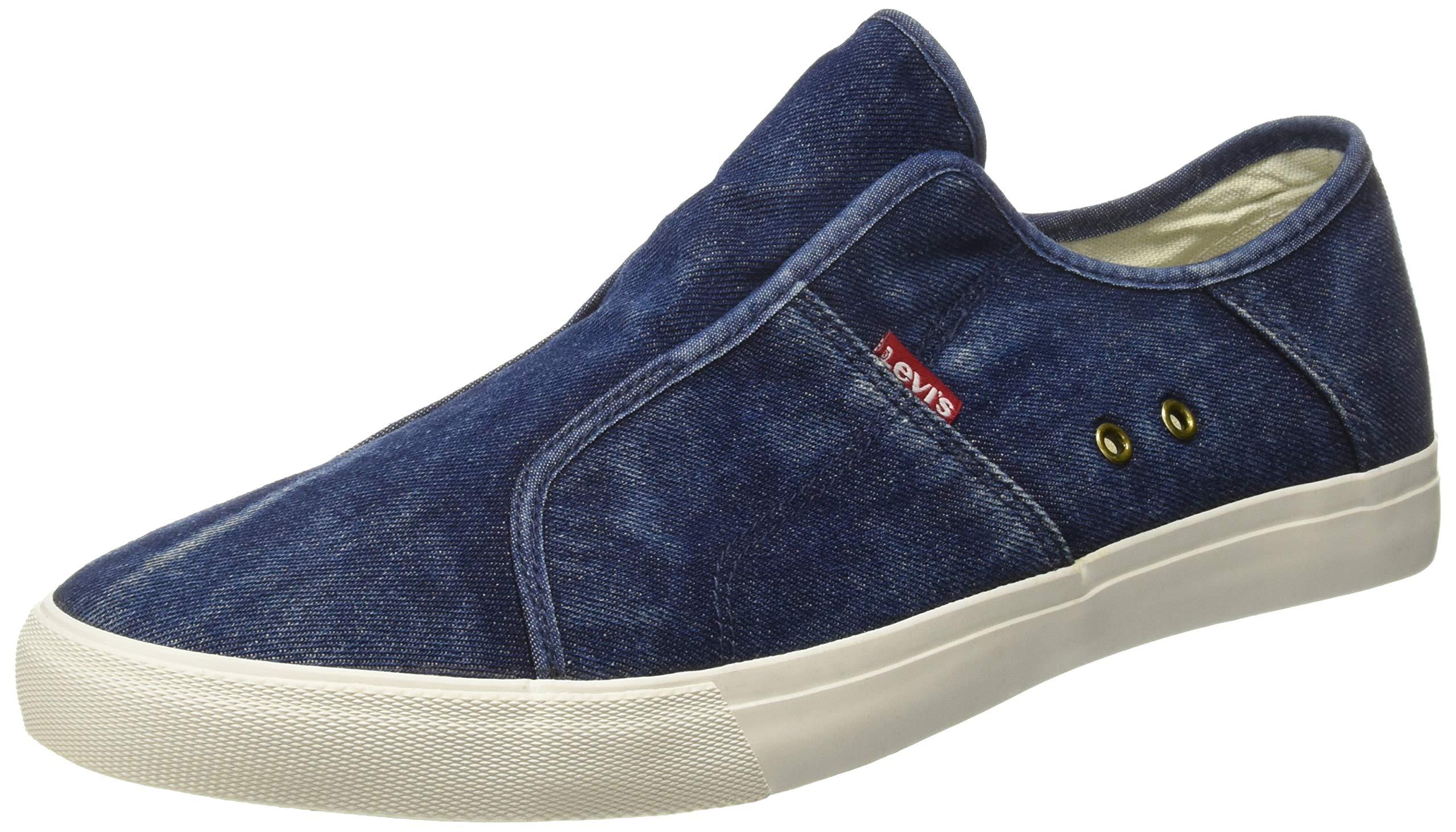 Levi's Men's Hauxton 2.0 Navy Blue Sneakers-11 UK/India (46)(12 US) (38110-0531) (B07FZ4BP4D) Amazon Price History, Amazon Price Tracker