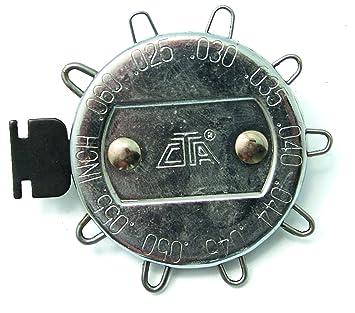 Amazon.com: CTA Tools 3238 9 Wire Spark Plug Gap Gauge: Home ...