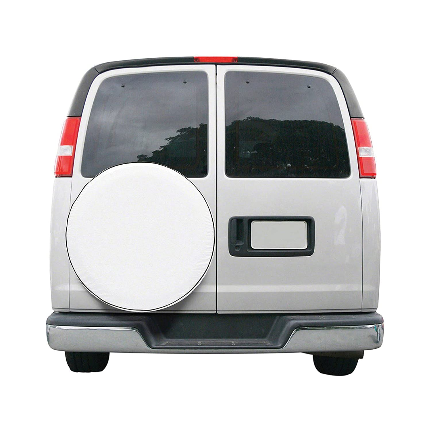 Classic Accessories 75110 OverDrive Custom Fit Spare Tire Cover 24-25 White