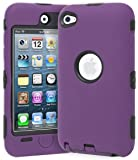 Deluxe Purple 3 part Hard Skin Case Cover
