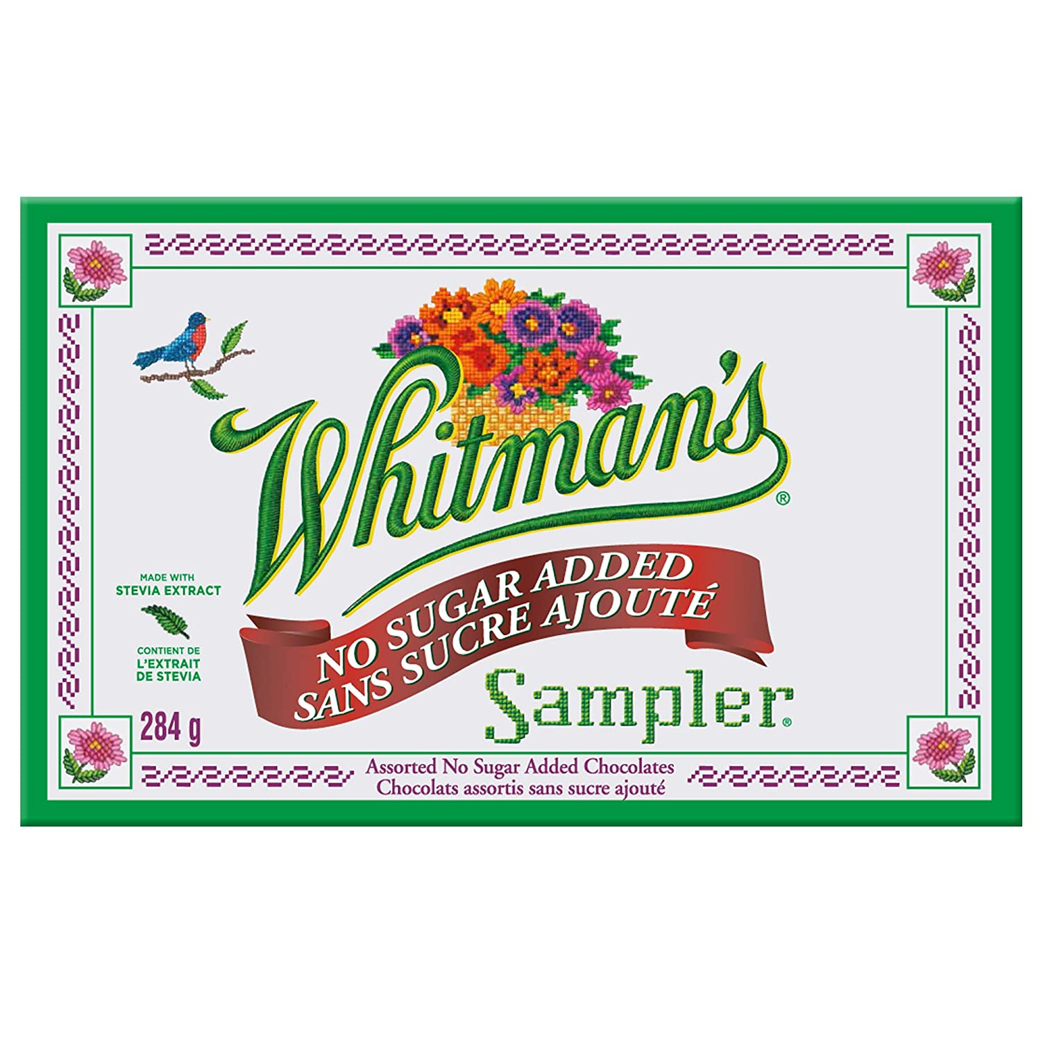 Whitman's Sampler Sugar Free, 10 oz. Box