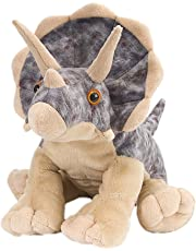 "Wild Republic Cuddlekins Plush Dino Triceratops 12"""
