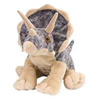 "Wild Republic Cuddlekin Triceratops 12"" Plush"