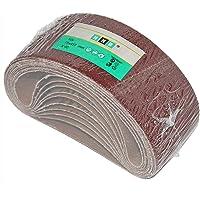 10pieza HKB® Bandas de lija (, 75x 457mm