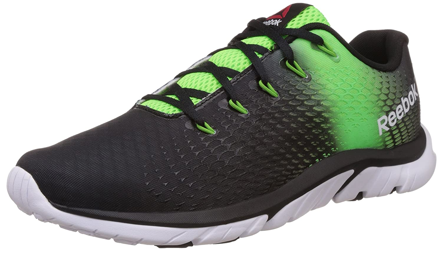 Reebok Men's Zstrike Elite Black, Green, Bright Green and White Running  Shoes - 11 UK: Buy Online at Low Prices in India - Amazon.in