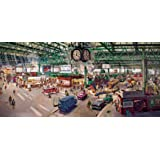 Gibsons Under The Clock Jigsaw Puzzle (636-Piece)