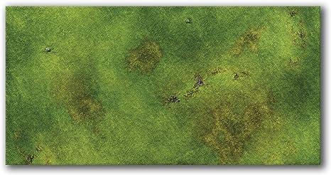 Neoprene Wargaming Mat Grasslands 6x4 FLG Mat Frontline Gaming