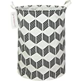 QUEENLALA Large Storage Basket,Collapsible Round Storage Bin,Laundry Hamper/Bathroom/Home Decor/Baby Hamper/Boxes/Baby…