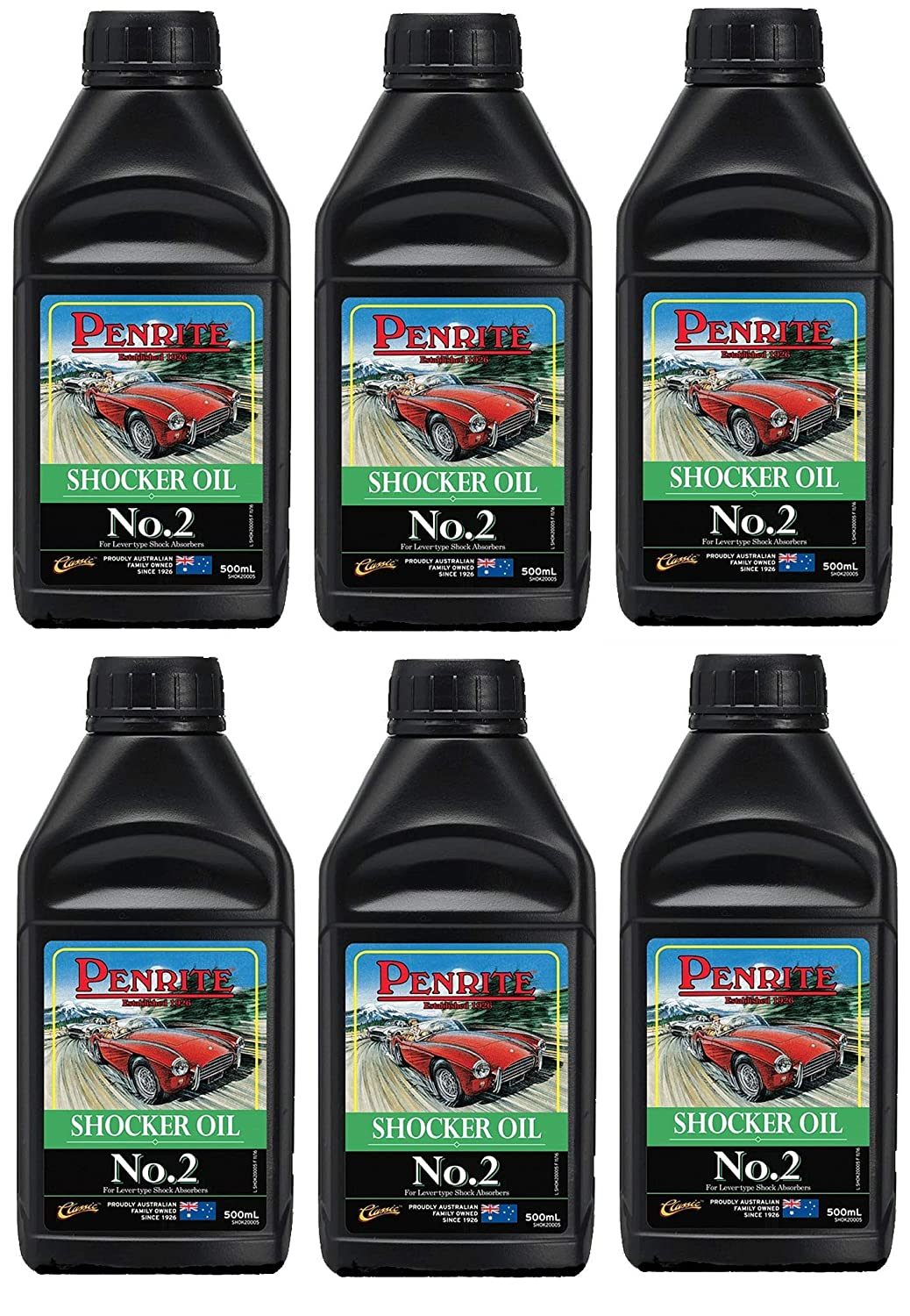 Penrite Classic Oil Shocker Oil No. 2, SAE20 Aceite de ...