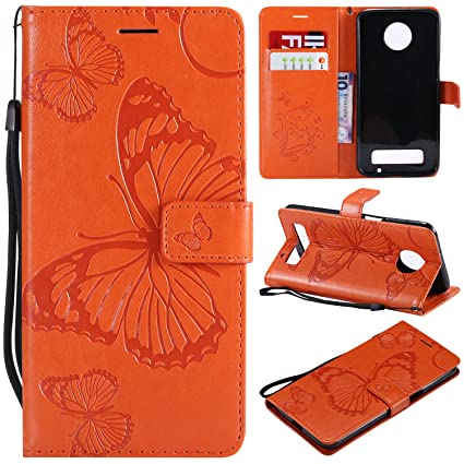 official photos a90c4 52655 NOMO Moto Z3 Play Case,Moto Z3 Play Wallet Case,Motorola Z3 Play Case with  Card Holders,Folio Flip Leather Butterfly Case Cover with Card Slots ...