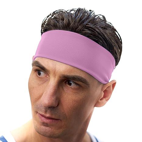 moins cher couleur rapide dernière conception VIMOV Bandeaux Homme - Bande de sport Sweatband pour course ...