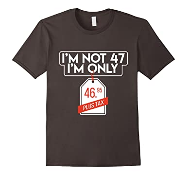 Mens Top Birthday Gifts For 47 Years Old T Shirt Men Women
