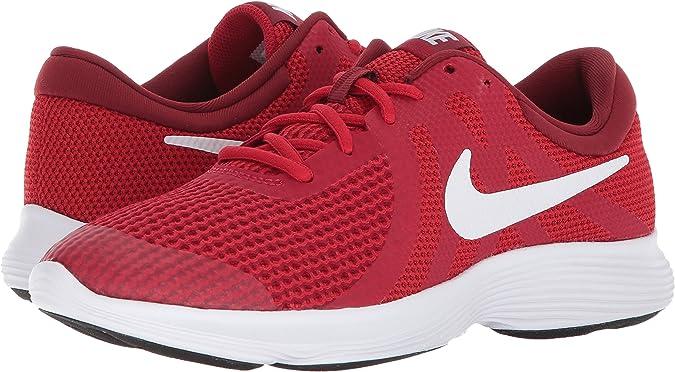 Nike Revolution 4, Zapatillas de Running para Niñas, Rojo (Gym Red/White/Team Red/Black 601), 38 EU: Amazon.es: Zapatos y complementos