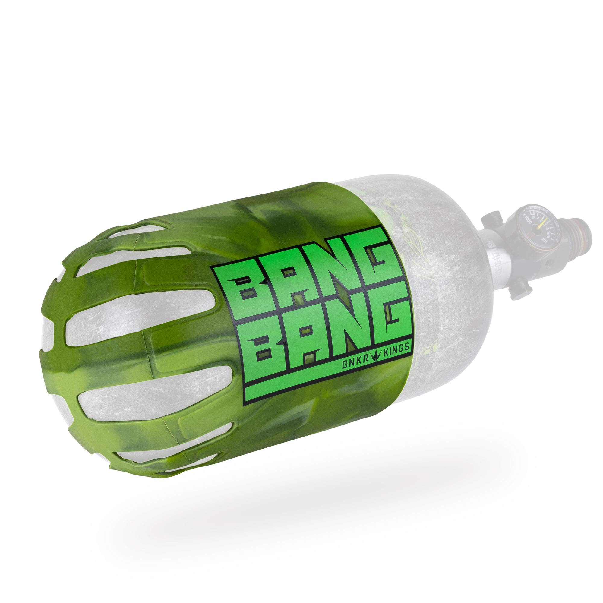 Bunker Kings Knuckle Butt Supreme Carbon Fiber Tank Cover Grip (BANGBANG - Camo) by Bnkr Kings