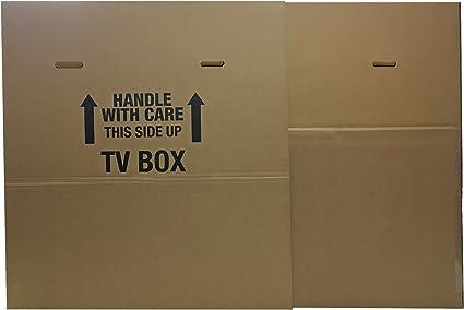 Uboxes TV caja de movimiento compatible con hasta 70