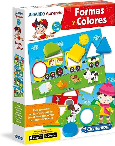 Clementoni - Las Formas y los Colores, Juego Educativo (65592.2 ...