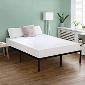 Olee Sleep 7 Inch I-Gel Deluxe Comfort Memory Foam Mattress,Full,Beige,White, CertiPUR-US, Multi-layered foam, Supporting Body Weight,Comfort and Relieve pressure (07FM01F)