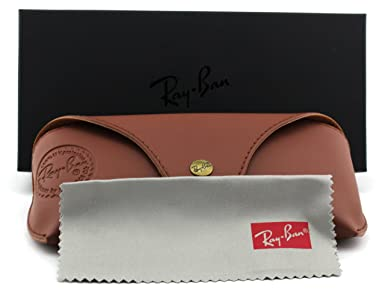 9c24e809ac Amazon.com  Ray-Ban RB4256 GATSBY Woman Round Sunglasses (Black Frame Dark  Green Lens 601 71