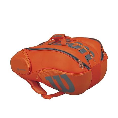 13442f7505 Wilson Vancouver 15 Pack borsa per racchette da tennis, Unisex adulto,  Unisex adulto,