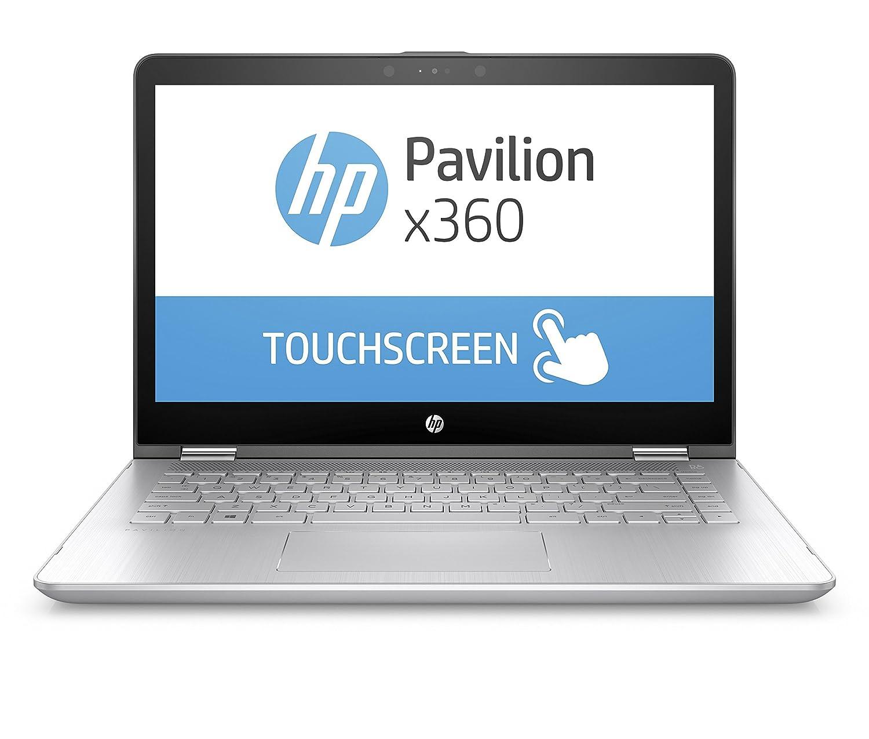 HP Pavilion x360 14-ba075TX 14-inch Laptop (7th Gen Core i3-7100U/4GB/1TB/Windows 10 Home/2GB Graphics), Silver