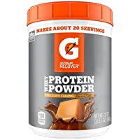 Deals on Gatorade Whey Protein Powder Chocolate Caramel 21 Ounce