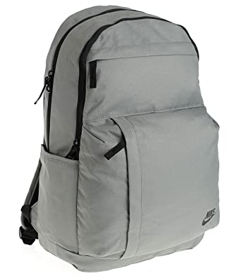 0877e69d5d Nike Backpack - Sportswear Elemental grey black black  Amazon.co.uk  Luggage