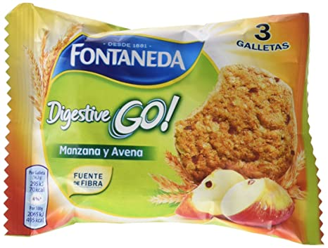 Galletas de avena y banana