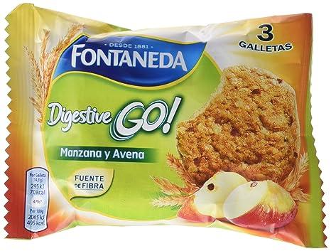 Fontaneda Digestive Manzana Go Galletas - 43 gr