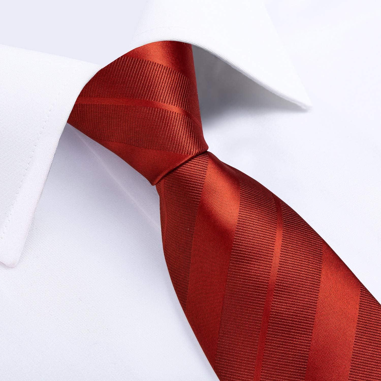 boutons de manchette et pinces /à cravate Motif floral pour mariage et travail DiBanGu Lot cravate mouchoir de poche