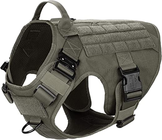 ICEFANG Tactical Dog Harness with