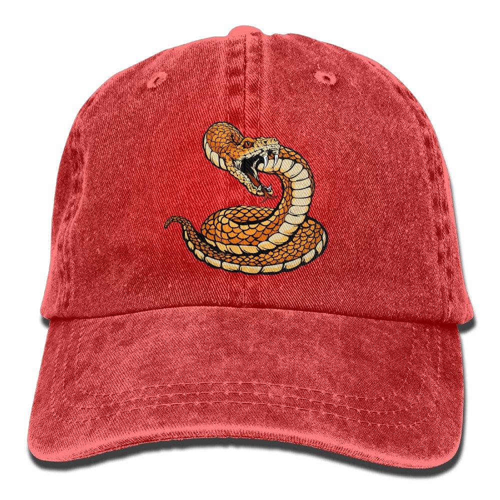 Rattlesnake Adult Fashion Cowboy Hat